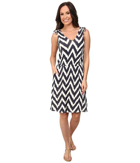 Lucky Brand - Printed Knit Dress (Natural Multi) Women