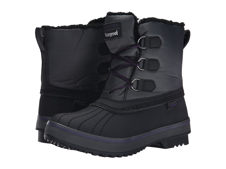SKECHERS - Highlanders - Polar Bear (Black/Charcoal) Women's Boots