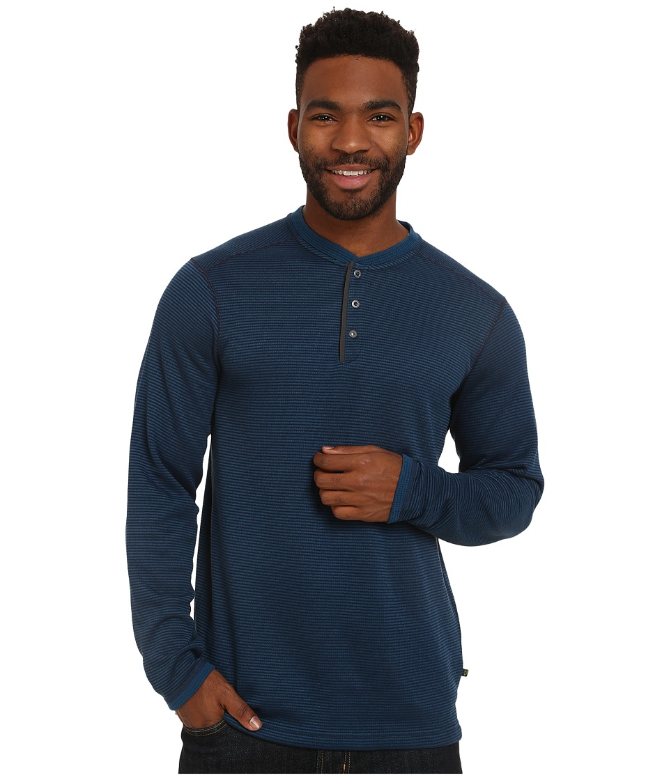 ExOfficio - Isoclime Thermal Henley (Navy/Galaxy) Men