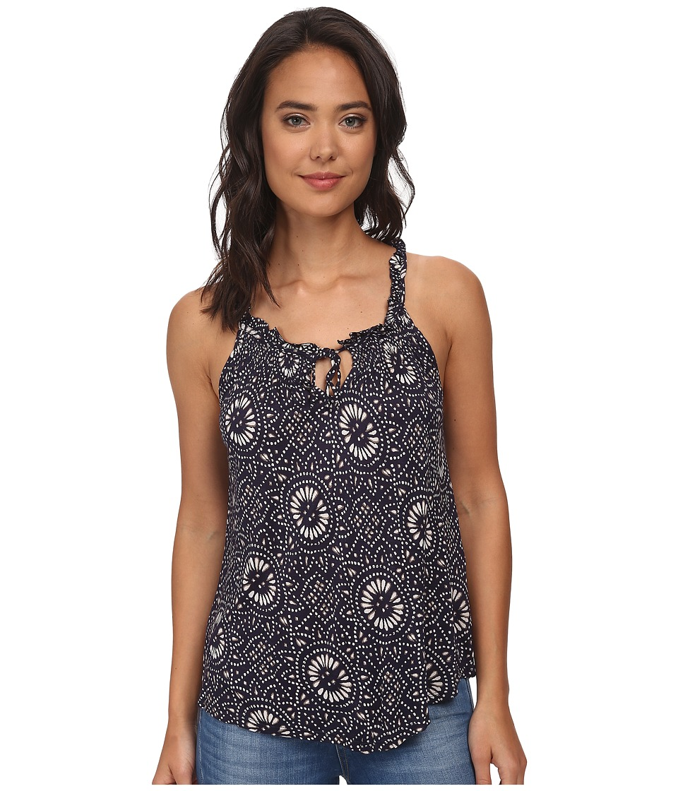 Lucky Brand - Batik Mosaic Tank Top (Blue Multi) Women's Sleeveless