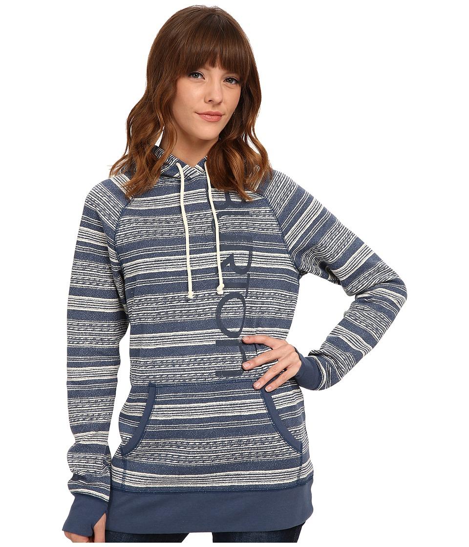 Burton - Custom Antidote Pullover (Indigo Yarny) Women's Sweatshirt