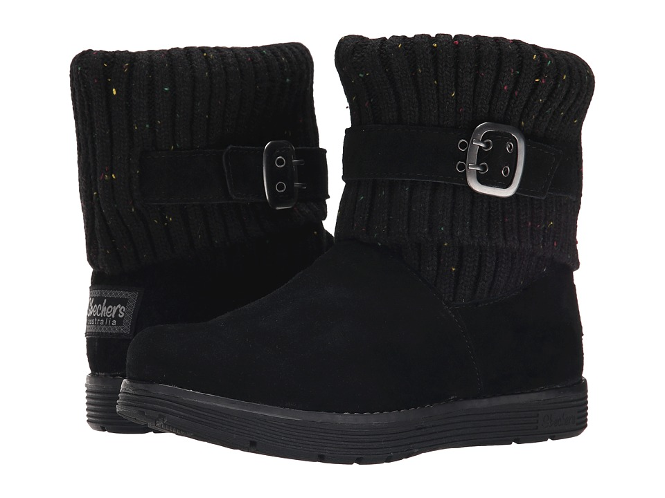 SKECHERS - Adorbs (Black) Women's Cold Weather Boots