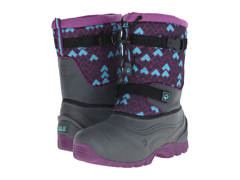 Jack Wolfskin Kids - Snow Rocker (Big Kid) (Mallow Purple) Girl's Shoes