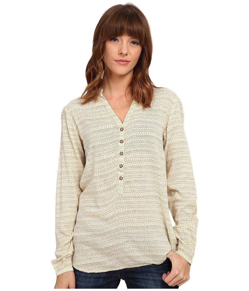 Burton - Waterbury Woven Shirt (Canvas Hatch Print) Women