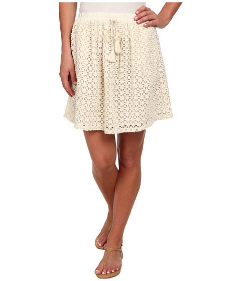 Lucky Brand - Eyelet Skirt (Ivory) Women's Skirt