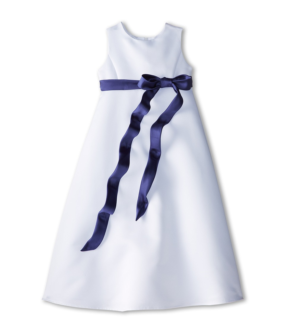 Us Angels - Satin A-Line Dress (Little Kids) (New Purple) Girl's Dress