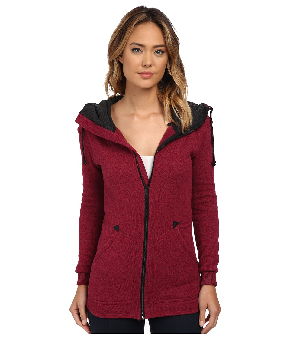 Burton - Minxy Fleece (Plum Heather) Women's Fleece