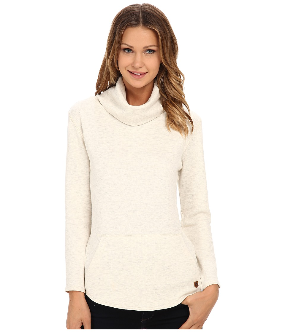 Burton - Ellmore L/S (Vanilla Heather) Women's Long Sleeve Pullover