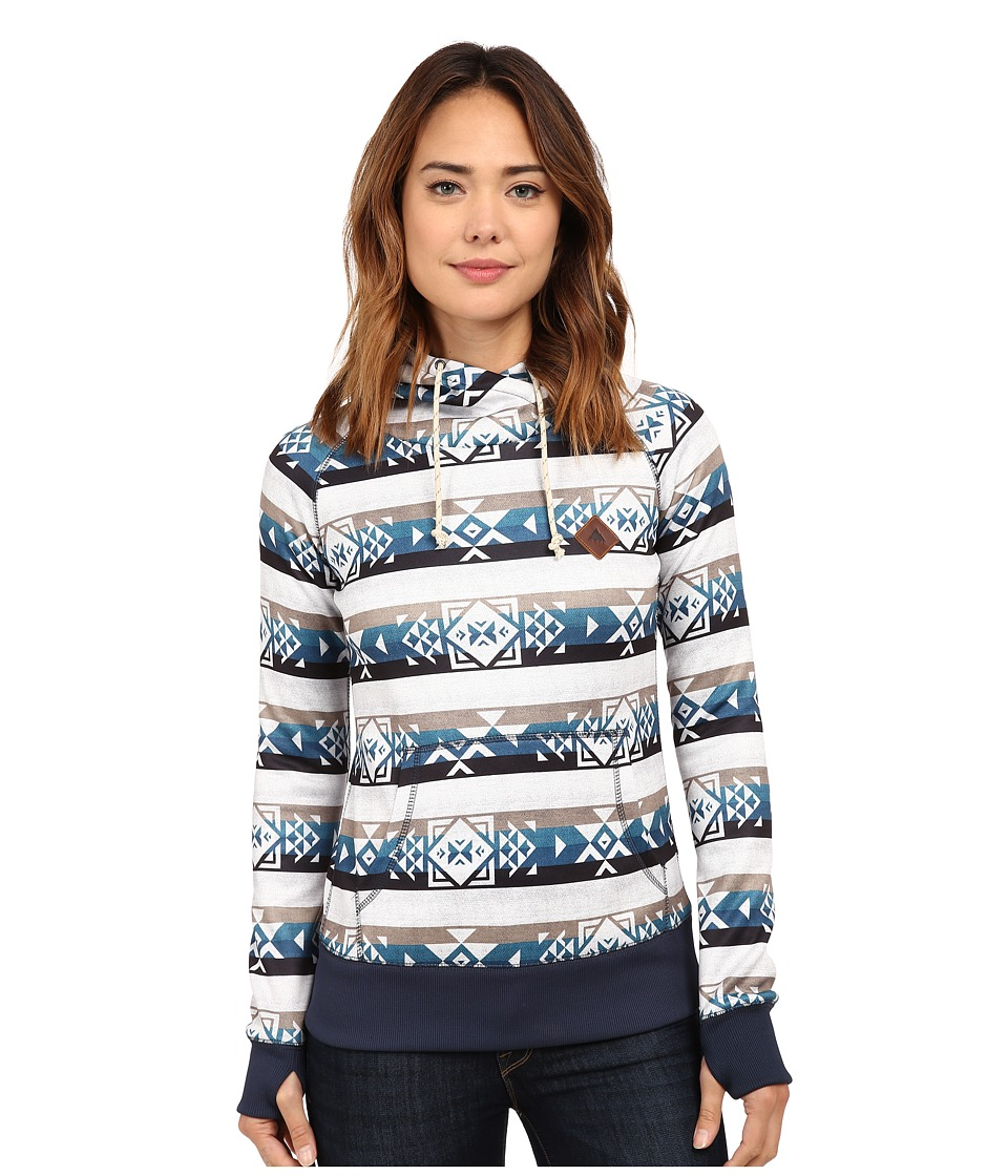 Burton - Heron Pullover (Banded Geo Small) Women's Fleece
