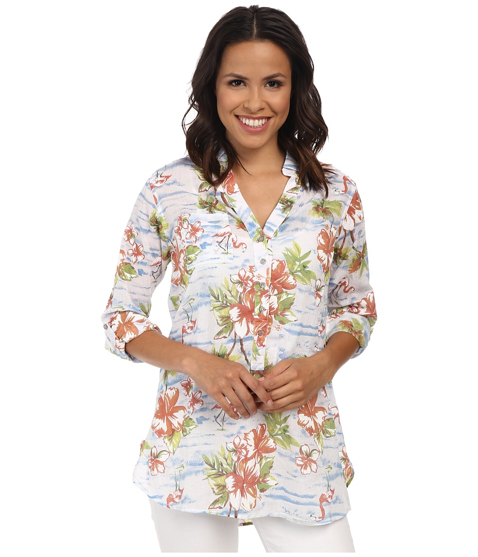 Fresh Produce - Tropic Saturday Tunic (White) Women