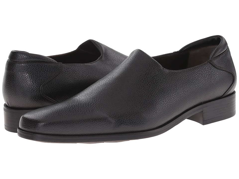 Donald J Pliner - Rex (Black) Men's Slip on Shoes