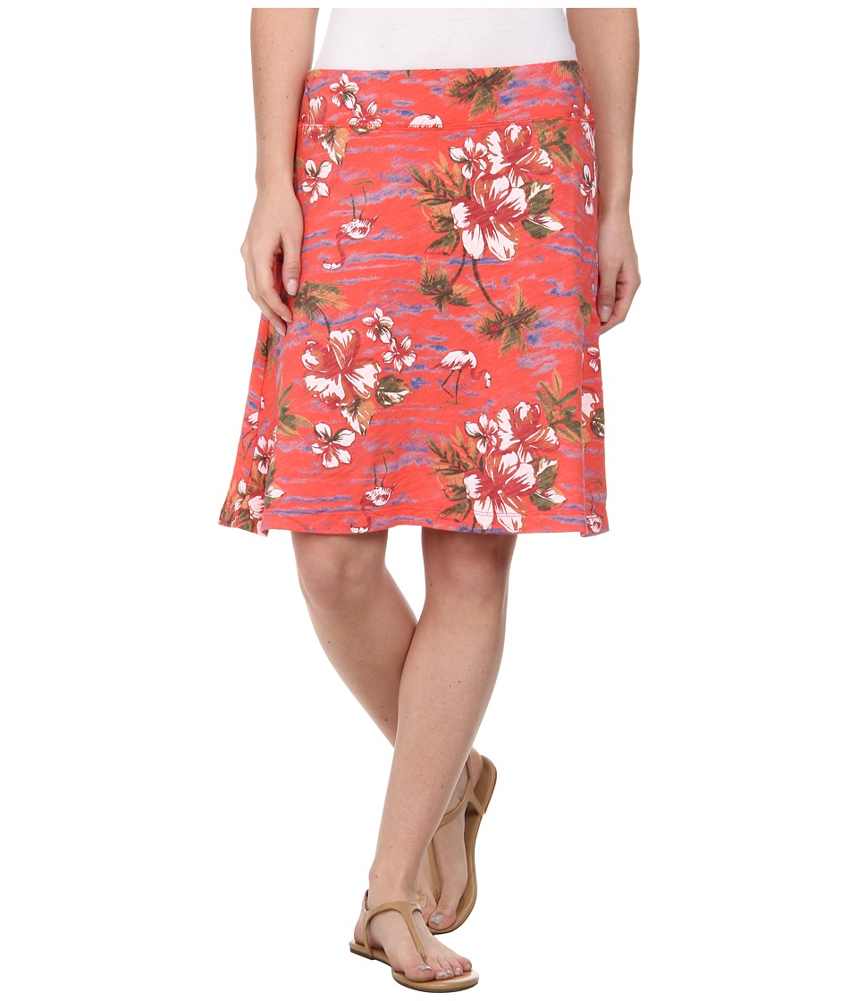 Fresh Produce - Tropic Marina Skirt (Red Coral) Women