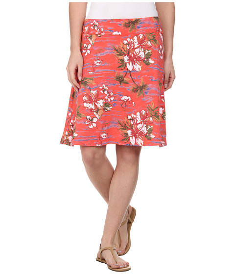 Fresh Produce - Tropic Marina Skirt (Red Coral) Women's Skirt