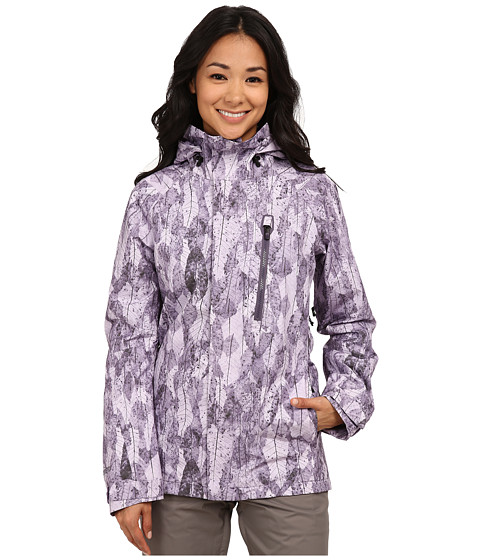 Burton - Ak 2l Altitude Jacket (Purple Label Leaf Collage) Women's Jacket