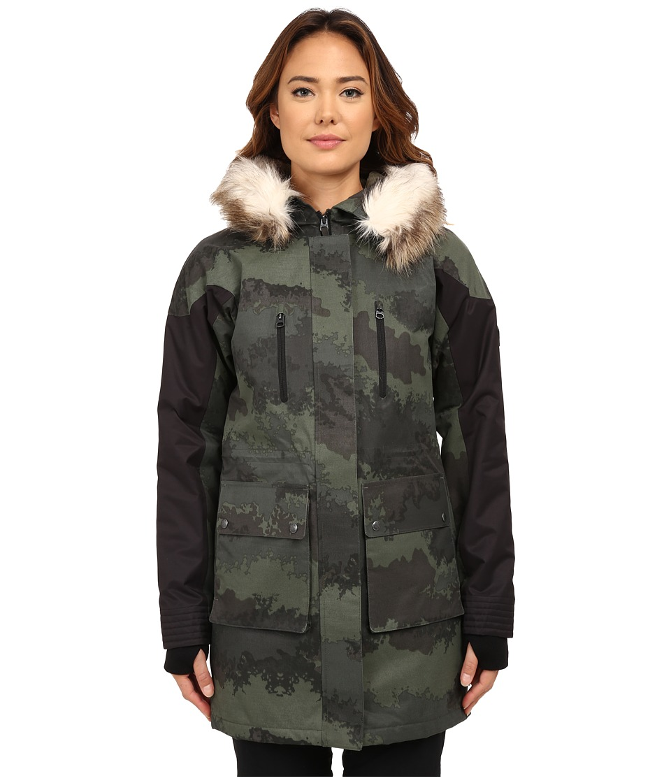 Burton - Olympus Jacket (Oil Camo) Women's Coat