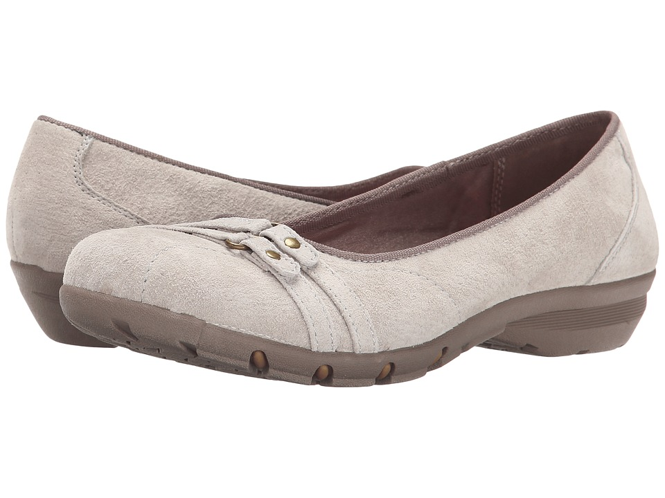 SKECHERS - Career - Happy hour (Taupe) Women's Slip on Shoes