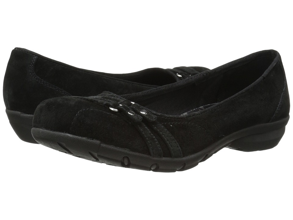 SKECHERS - Career - Happy hour (Black) Women's Slip on Shoes