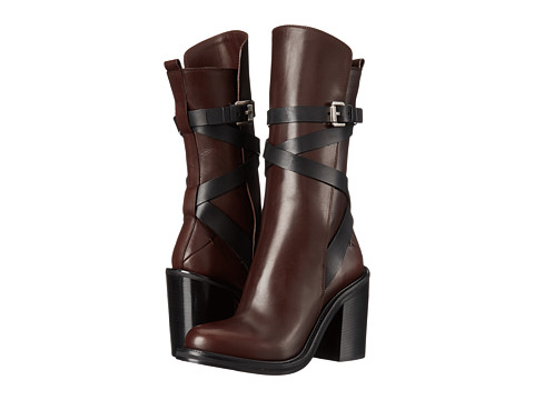 CoSTUME NATIONAL - 40639 22295 169 (Espresso/Nero) Women's Pull-on Boots