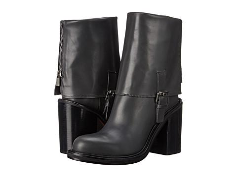 CoSTUME NATIONAL - 40640 22288 763 (Asfalto) Women's Zip Boots