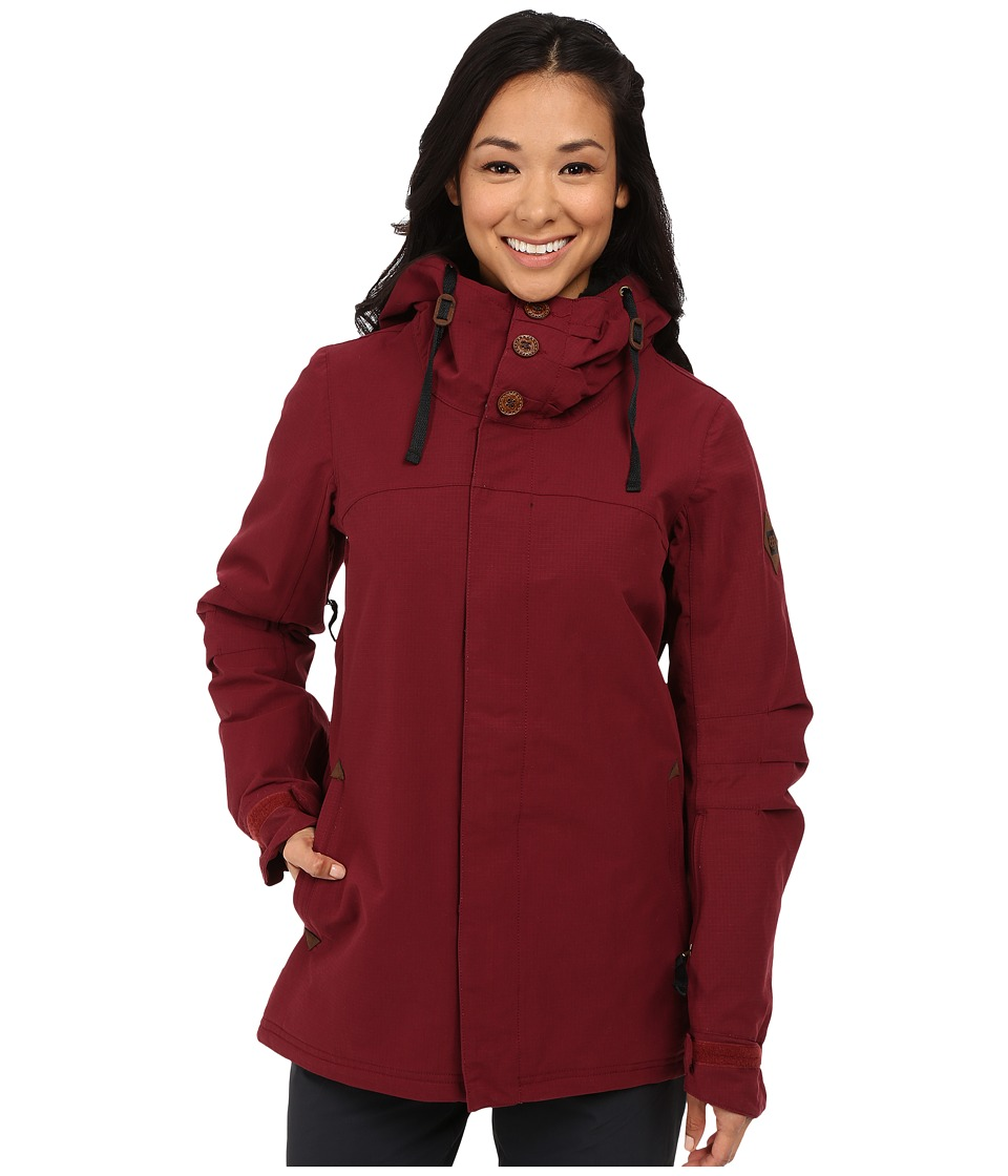 686 - Parklan Mystique Insulated Jacket (Wine Ripstop) Women's Coat