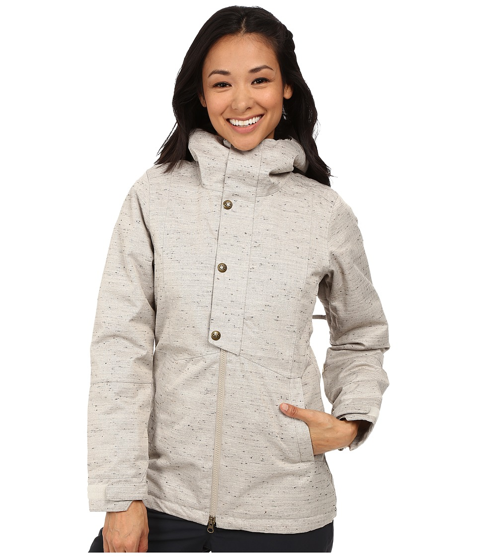 686 - Authentic Rumor Jacket (Ivory Textured Hrbone) Women