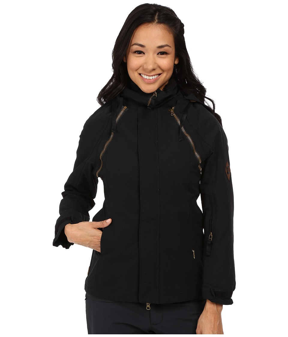 686 - Parklan Labrynth Insulated Jacket (Black Ripstop) Women's Coat