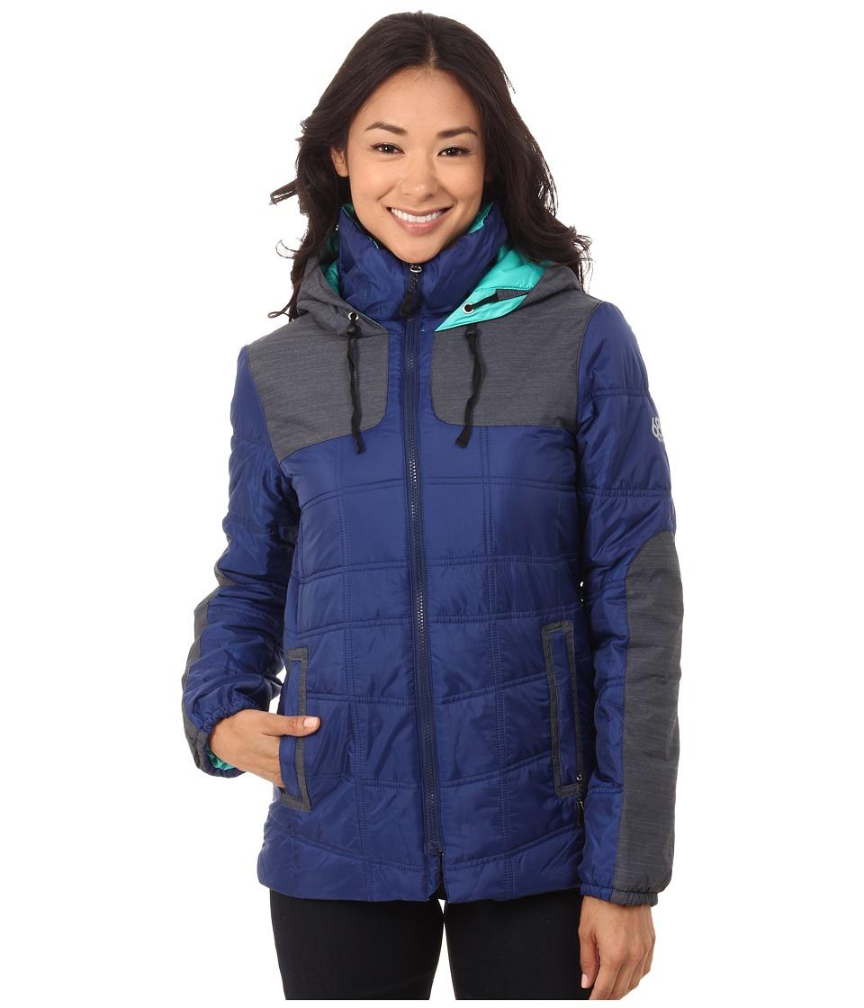 686 - GLCR Uptown Down Parka (Indigo Cire) Women's Coat