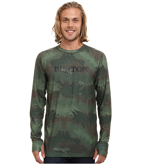 Burton - Midweight Crew (Oil Camo) Men's Long Sleeve Pullover