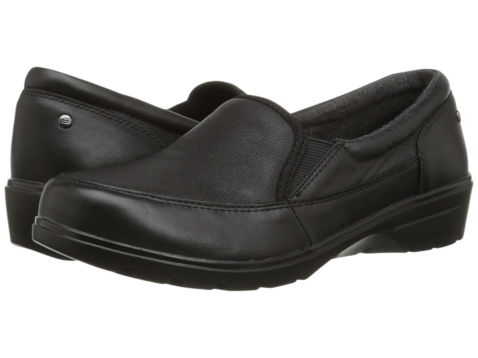 SKECHERS - Metronome - Concerts (Black) Women's Slip on Shoes