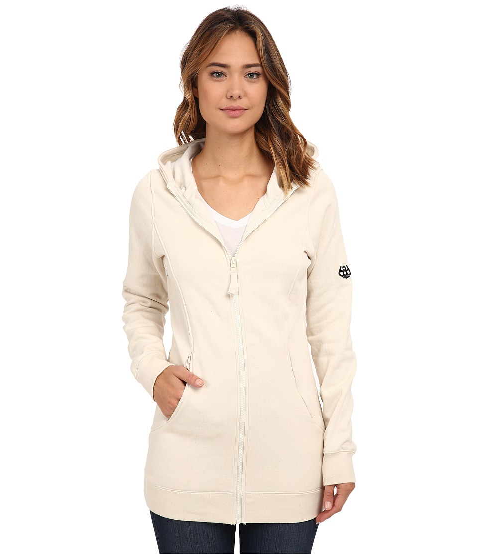686 - Brooklyn Full Zip Fleece (Ivory) Women's Fleece
