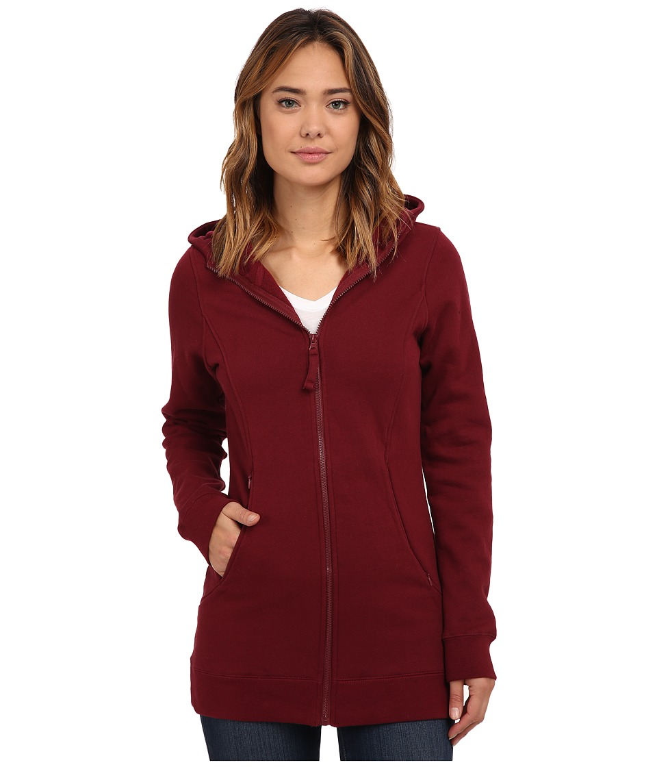 686 - Brooklyn Full Zip Fleece (Wine) Women's Fleece