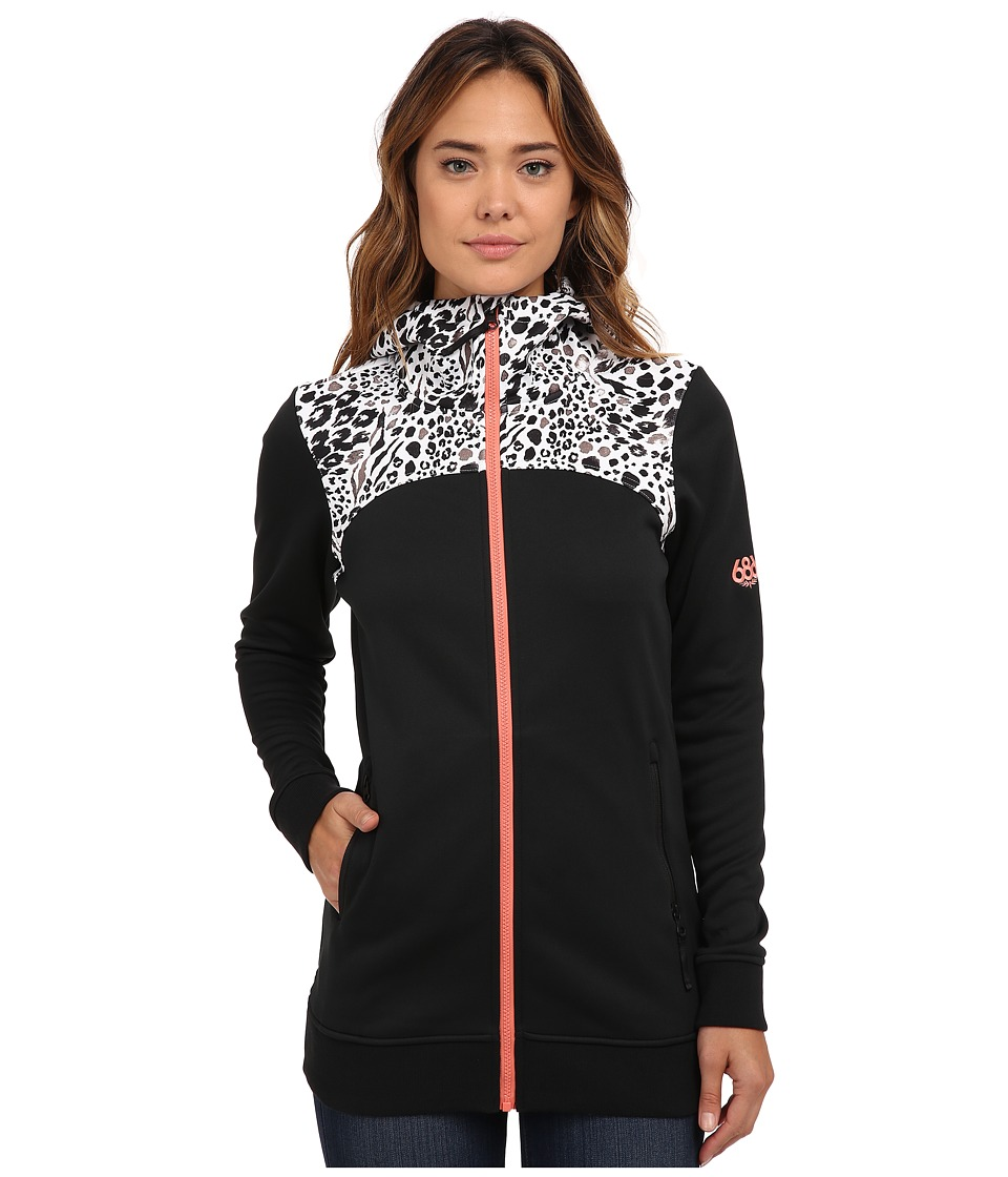 686 - Envy Bonded Fleece (Black) Women