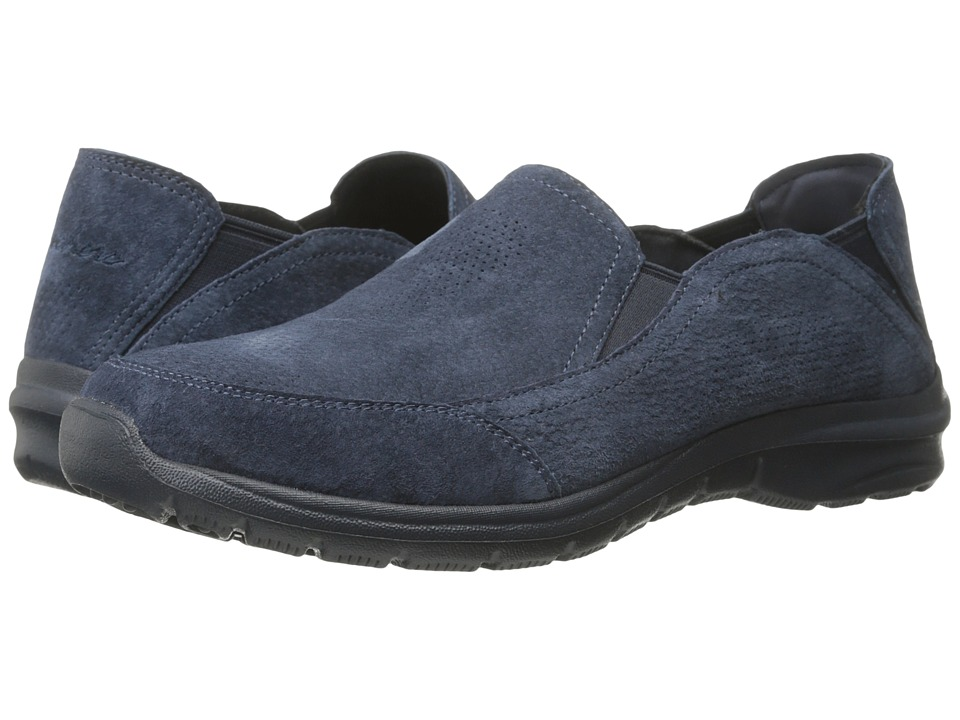 SKECHERS - Relaxed Living - 4 Gore (Navy) Women's Slip on Shoes