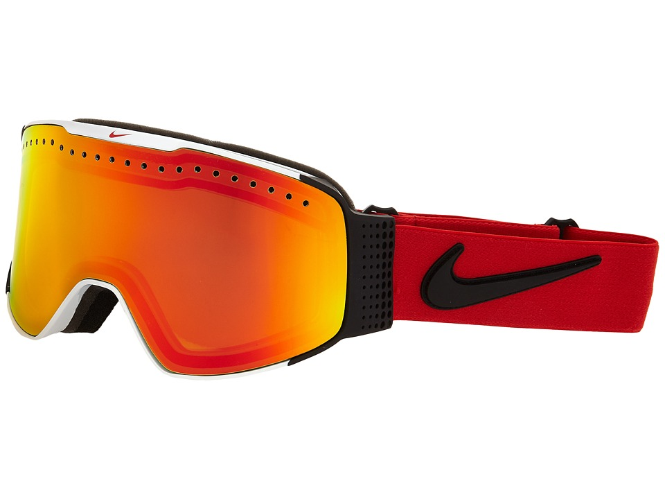 Dragon Alliance - Fade X Nike (White University Red/Yellow Red Ionized) Goggles