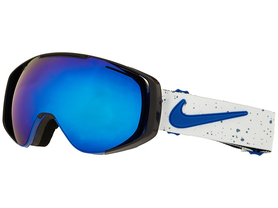 Dragon Alliance - Khyber X Nike (Game Royal/Dark Smoke Blue/Silver Ionized) Goggles