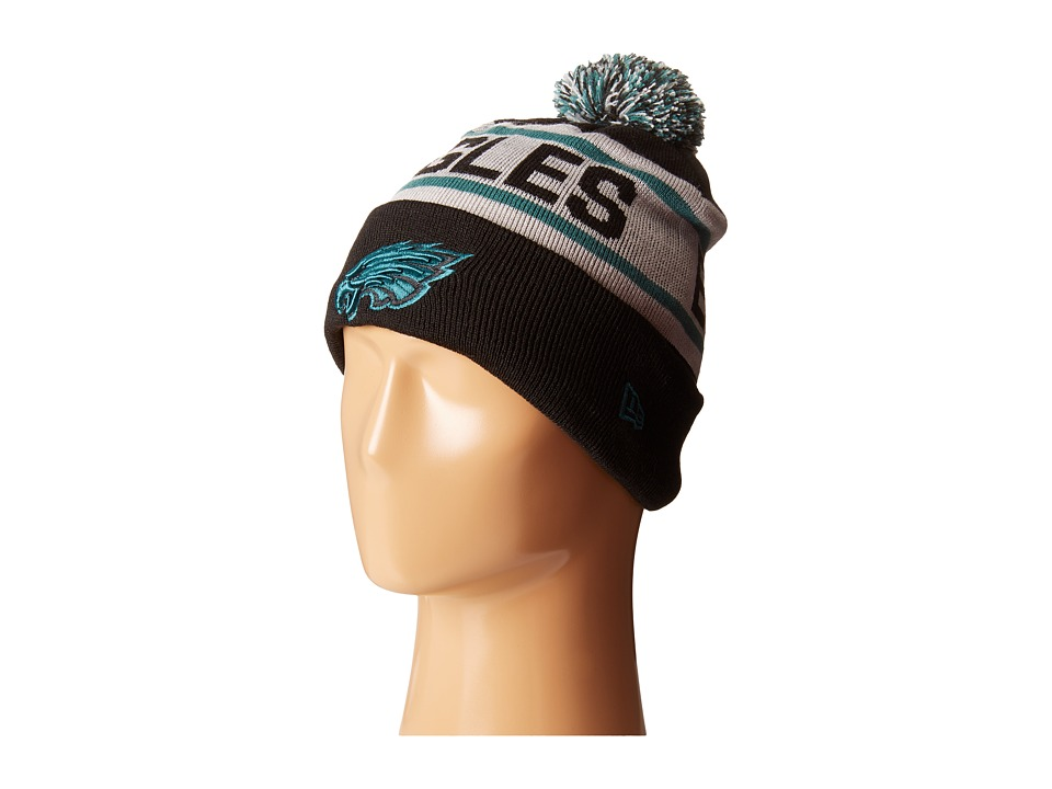 New Era - Biggest Fan Redux Philadelphia Eagles Black Team (Turquoise/Aqua) Traditional Hats