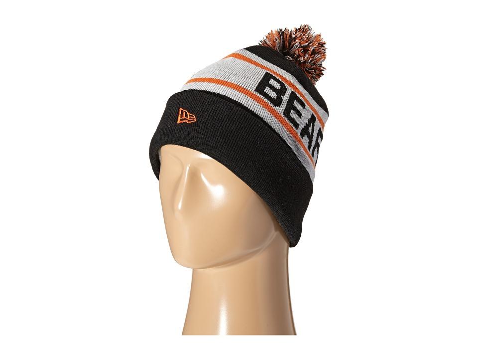 New Era - Biggest Fan Redux Chicago Bears Black Team (Navy) Traditional Hats