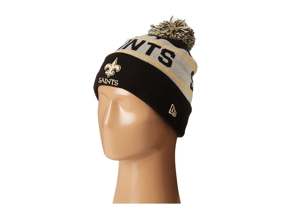 New Era - Biggest Fan Redux New Orleans Saints Black Team (Black) Traditional Hats
