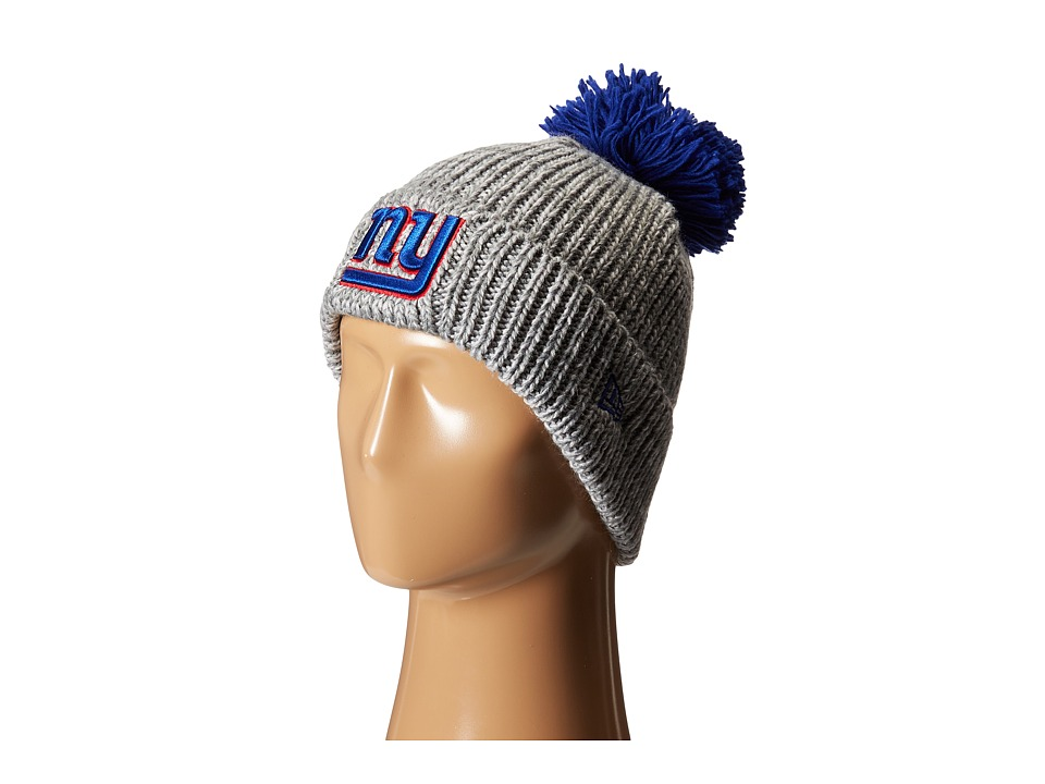 New Era - Cuff Start New York Giants (Grey) Beanies