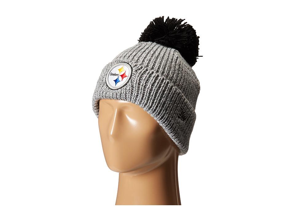 New Era - Cuff Start Pittsburgh Steelers (Grey) Traditional Hats