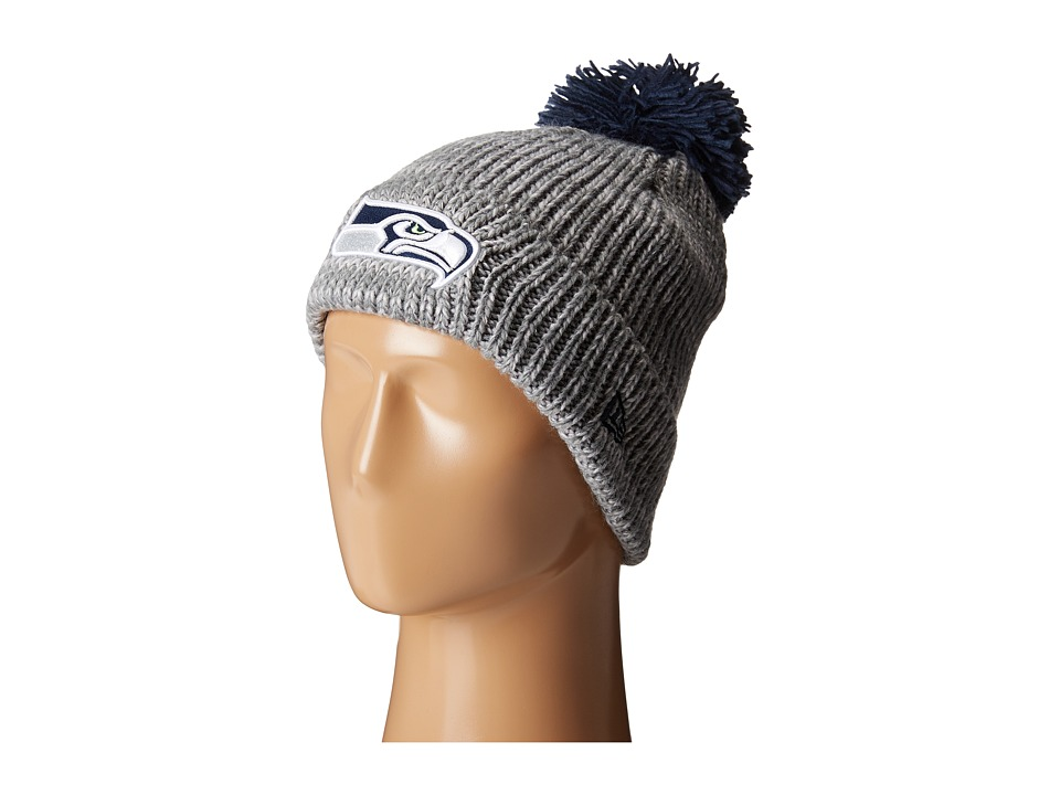 New Era - Cuff Start Seattle Seahawks (Grey) Beanies