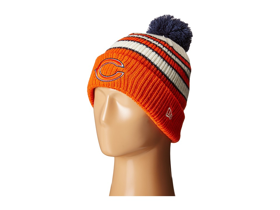 New Era - Traditional Stripe Chicago Bears (Navy) Beanies