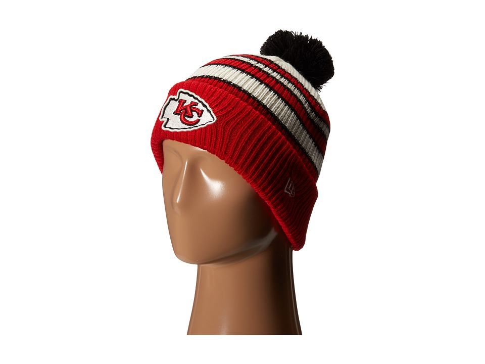 New Era - Traditional Stripe Kansas City Chiefs (Red) Traditional Hats