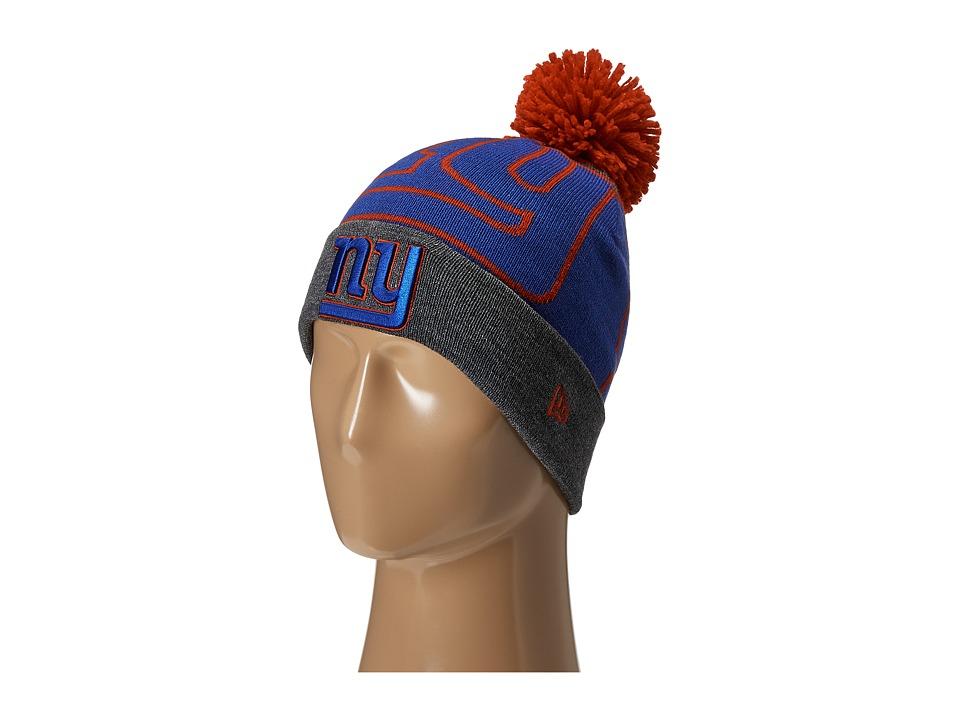 New Era - Logo Whiz New York Giants Black Team (Medium Blue) Traditional Hats