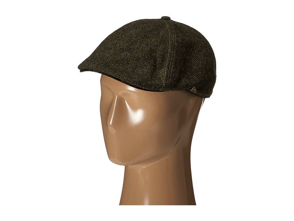 New Era - EK Camo Tweed Duckbill (Dark Green) Traditional Hats