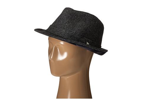 New Era - EK Camo Tweed Fedora (Black) Fedora Hats