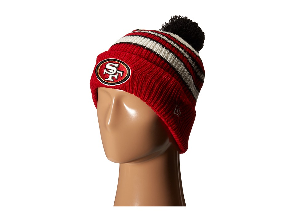 New Era - Traditional Stripe San Francisco 49ers (Red) Traditional Hats