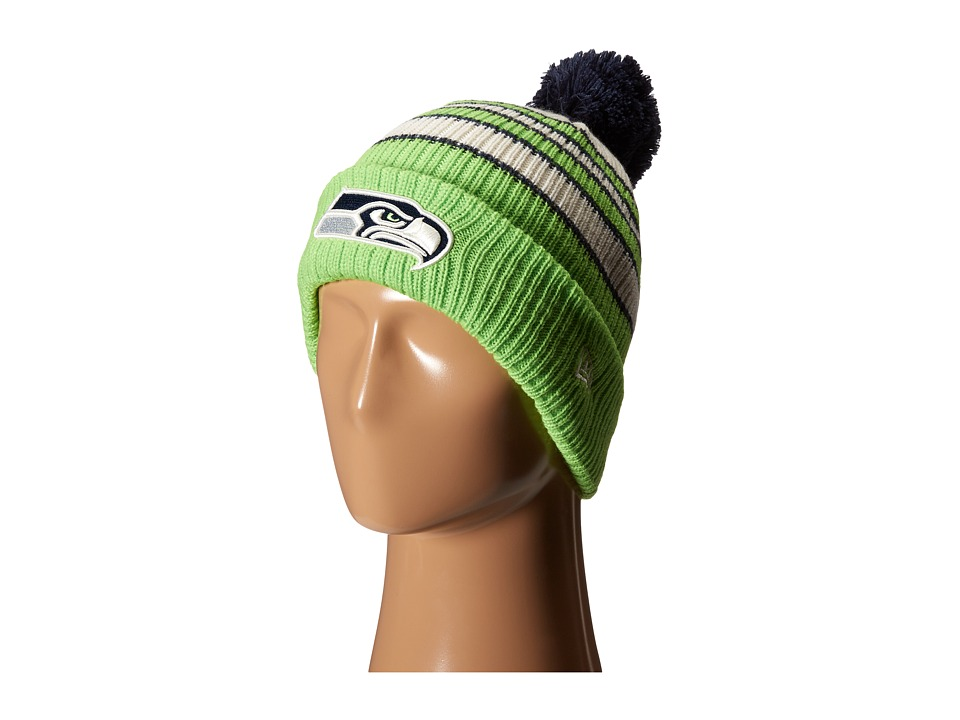 New Era - Traditional Stripe Seattle Seahawks (Navy) Traditional Hats
