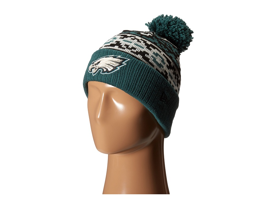 New Era - Retro Chill Philadelphia Eagles (Turquoise/Aqua) Traditional Hats