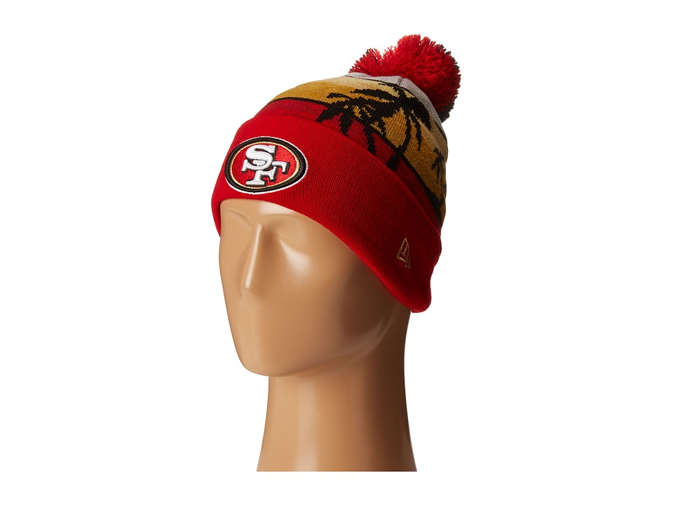 New Era - Winter Beachin San Francisco 49ers (Red) Traditional Hats